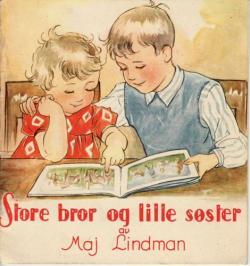 Storebror og lille søster.