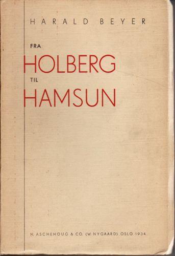 Fra Holberg til Hamsun.