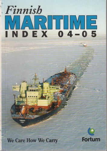 FINNISH MARITIME INDEX.