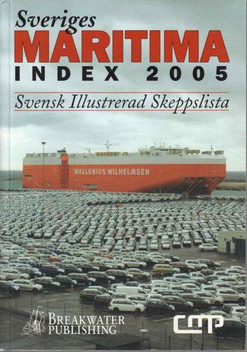 SVERIGES MARITIME INDEX.  Svensk illustrerad skeppslista.