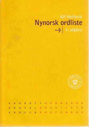 Nynorsk ordliste.