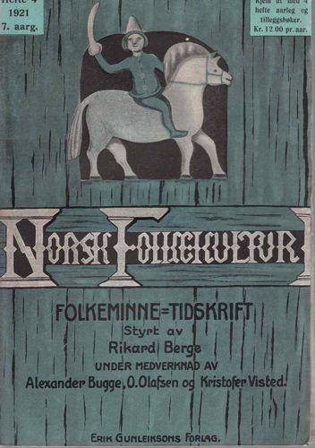 NORSK FOLKEKULTUR.