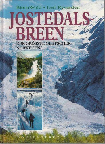 Jostedalsbreen.  Der grösste gletscher Norwegens.