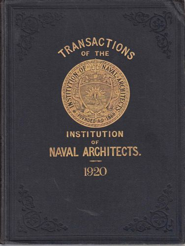 TRANSACTIONS OF THE INSTITUTION OF NAVAL ARCHITECTS.