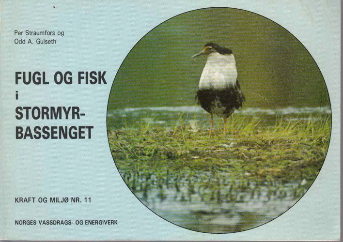 Fugl og fisk i Stormyrbassenget.