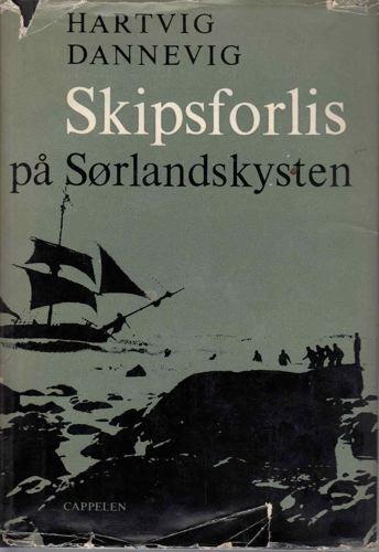 Skipsforlis på Sørlandskysten.