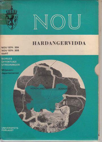 HARDANGERVIDDA.  Natur - kulturhistorie - samfunnsliv.