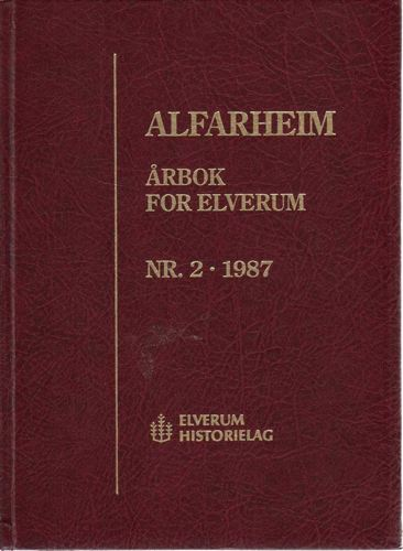 ALFARHEIM.  Årbok for Elverum.