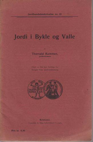 Jordi i Bykle og Valle.