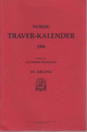 NORSK TRAVER-KALENDER.  Utg. av Det Norske Travselskap.
