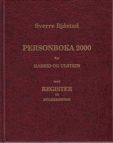 Personboka 2000 for Hareid og Ulstein med register til bygdebøkene.