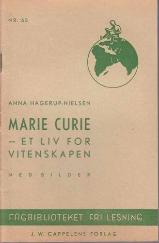 Marie Curie - et liv for vitenskapen.