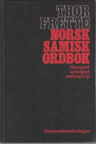 Norsk - Samisk ordbok.