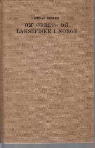 Om ørret- og laksefiske i Norge.