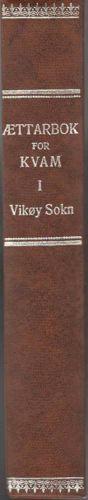 ÆTTARBOK FOR KVAM. BIND III: VIKØY SOKN.