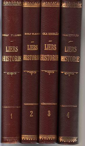 Liers historie. Gardshistorie.