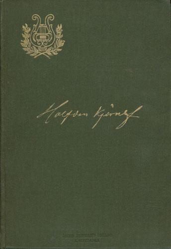 (KJERULF, HALFDAN) Halfdan Kjerulf. Av hans efterlatte papirer 1831-1847. Utgit ved -.