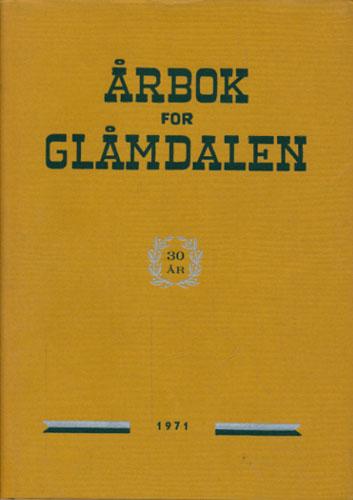 ÅRBOK FOR GLÅMDALEN 1971.