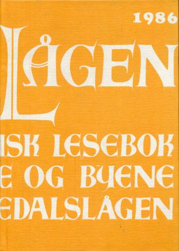 LANGS LÅGEN.  Lokalhistorisk lesebok for bygdene og byene langs Numedalslågen. 8.årgang.
