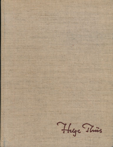 (THIIS, HELGE) Domkirkearkitekt Helge Thiis 1897 16. august 1967.