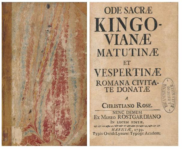(KINGO:) Ode sacræ Kingovianæ matutinæ et vespertinæ romana civitate donatæ a Christiano Rose.