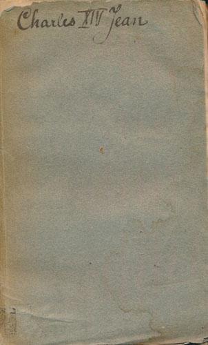 (KARL  JOHAN) Choix de discours tenus en 1843, à l'occasion du Jubilé du Règne de Charles XIV Jean, Roi de Suède et de Norvége. Traduction du suédois.