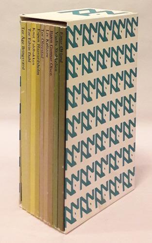 NI NYE NORSKE  - en antologi ved Tom Kristensen. Teksturvalg, presentasjoner og bibliografi ved Tom Kristensen i samarbeid med forfatteren.