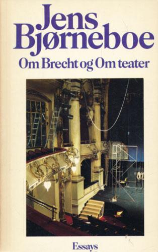 Om Brecht og Om teater. Essays (omslagstittel).