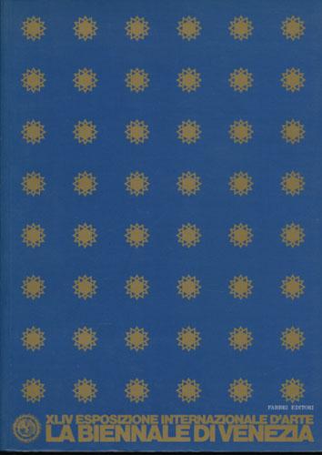LA BIENNALE DI VENEZIA.  XLIV Esposizione Internazionale d'Arte. General Catalogue 1990. Dimensione Futuro. L'artista e lo spazio.