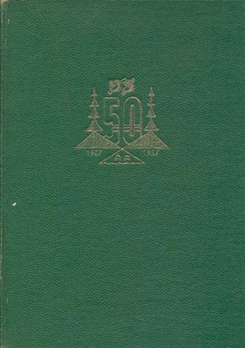 DRAMMENSDISTRIKTETS SKOGEIERFORENING 1907-1957.  Skogsdrift og tømmerhandel i Drammensvassdraget gjennom tidene. Redaktør: Jens M. Alm.