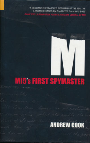 (MELVILLE, WILLIAM) M. M15's first Spymaster.