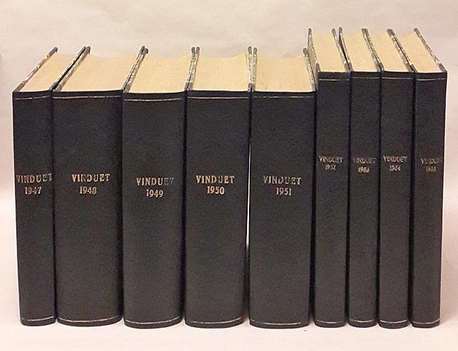 VINDUET.  Tidsskrift for litteratur. Redaktør Nic. Stang.