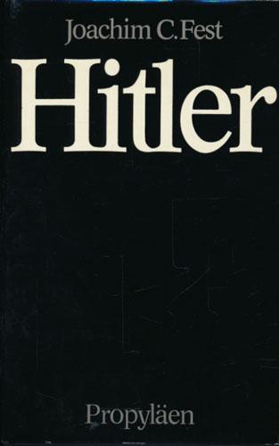 (HITLER, ADOLF) Hitler. Eine Biographie.