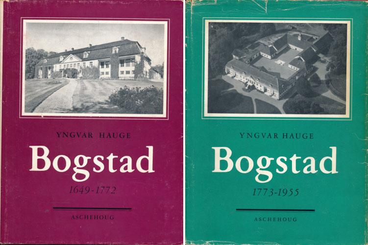 Bogstad. 2 bind. I. 1649-1772. II. 1773-1955.