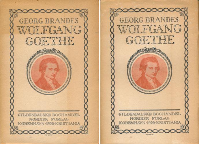 (GOETHE) Wolfgang Goethe.