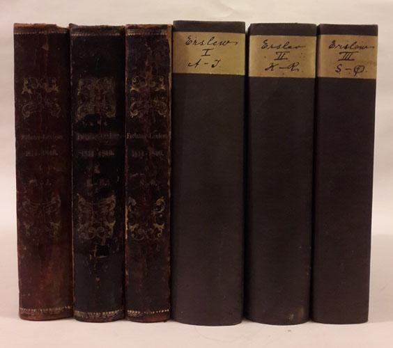 Almindeligt Forfatter-Lexicon for Kongeriget Danmark med tilhørende Bilande, fra 1814 til 1840,  og Supplement til Almindeligt Forfatter-Lexicon ... indtil Udgangen af Aaret 1853.