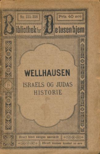 Israels og Judas historie i korthed ved -. Oversat fra tysk.