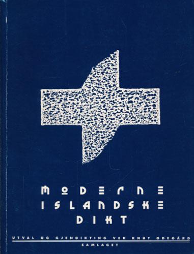 MODERNE ISLANDSKE DIKT.  Utval og gjendikting ved Knut Ødegård.