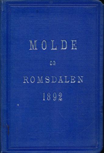 MOLDE OG ROMSDALEN.  En reisehåndbog udgivet af Molde og Romsdals Turistforening. Med 1 kart over Molde.