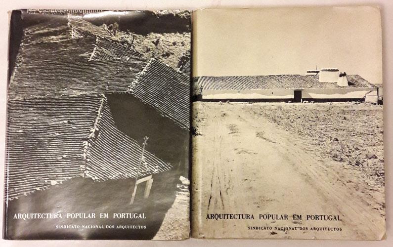 ARQUITECTURA POPULAR EM PORTUGAL  edicao do Sindicato Nacional dos Arquitector.