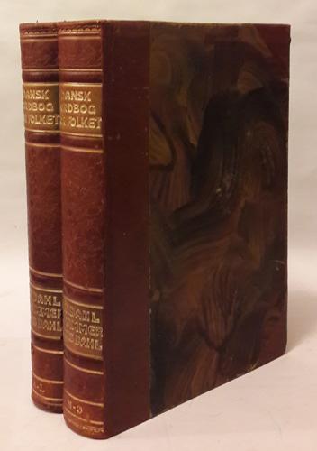 DANSK ORDBOG FOR FOLKET.  Udarbejdet af B.T.Dahl (og) H. Hammer under medvirkning af Hans Dahl.