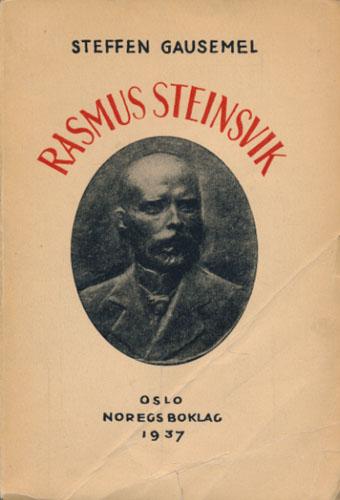 (STEINSVIK, RASMUS) Rasmus Steinsvik.