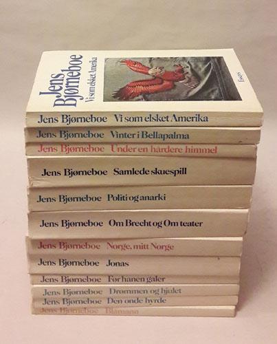 Bjørneboe-serien (Verker i utvalg).