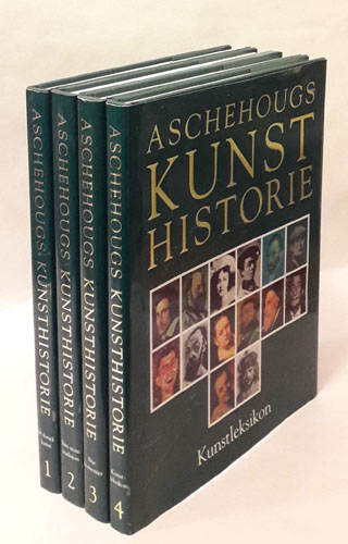 ASCHEHOUGS KUNSTHISTORIE.  Redigert av David Piper. Norsk redaktør Gunnar Danbolt.