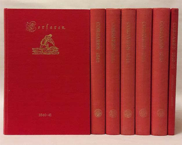 CORSAREN.  M.A. Goldschmidts årgange 1840-46 genudgivet ved Uffe Andreasen.