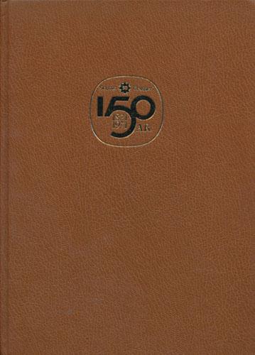 (SCHOUS BRYGGERI) A/S Schous Bryggeri. 150 år 1821-1971. Beretningen om De siste 50 år 1921-1971.