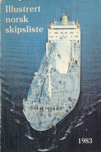 ILLUSTRERT NORSK SKIPSLISTE 1983.