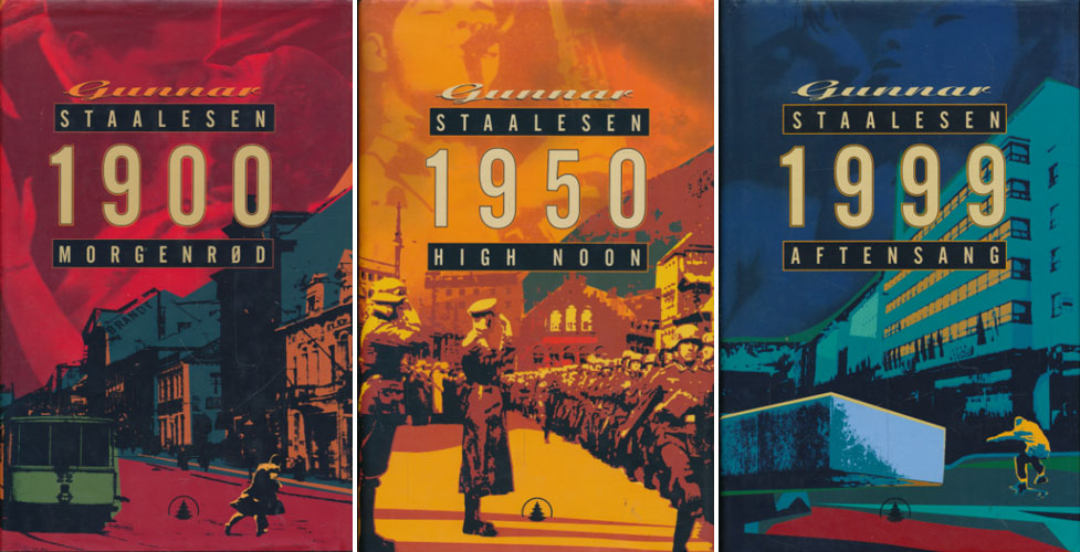 1900. Morgenrød. / 1950. High noon. / 1999. Aftensang.