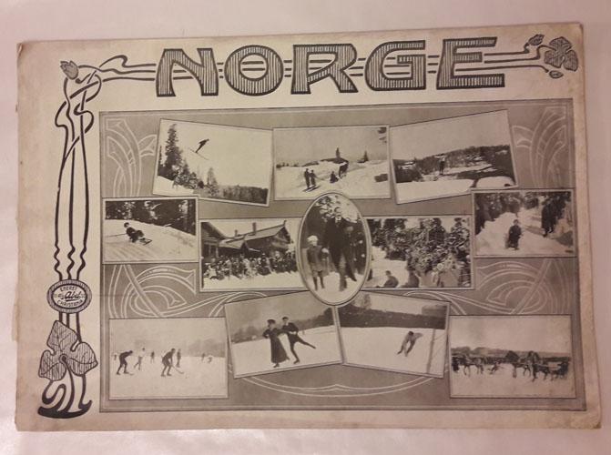 NORGE. SOMMER OG VINTER.