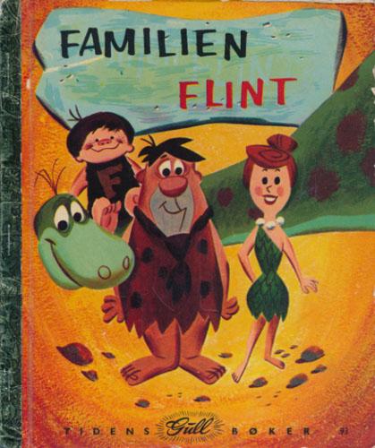 (PRØYSEN, ALF) Familien Flint. Tekst og bilder ved -. Norsk tekst ved Alf Prøysen.